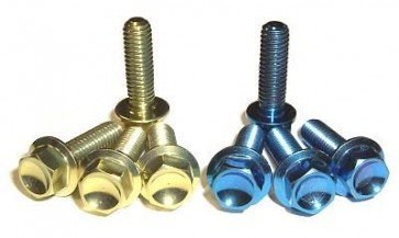 Titanium Brake/Clutch Perch Pinch Bolts