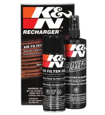 K & N Cleaner Kit & Oil
