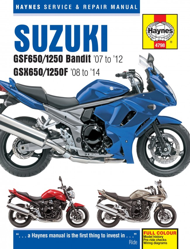 Suzuki bandit 1250 manual free download.