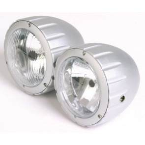 Billet Twin Headlamps