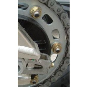 Titanium Sprocket Nuts